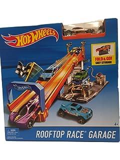 Hot Wheels Pista Garaje Rooftop Race