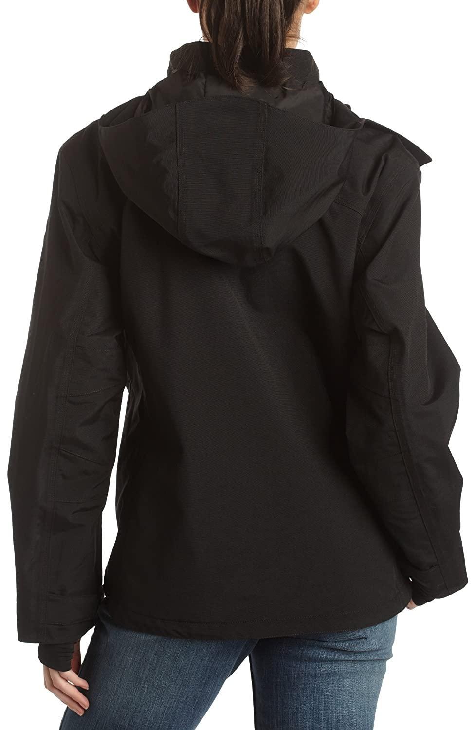 Carhartt wj002 Mujer Negro Impermeable y Transpirable ...