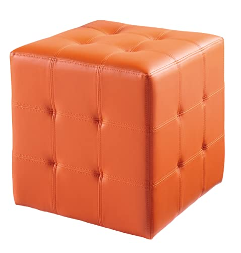 Sunpan Modern Dario Ottoman, Orange