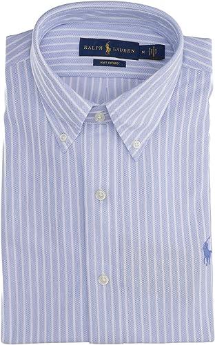 Camisa Polo Ralph Lauren Oxford De Punto Azul para Hombre M ...