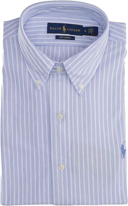 Camisa Polo Ralph Lauren Oxford De Punto Azul para Hombre XL Azul: Amazon.es: Zapatos y complementos