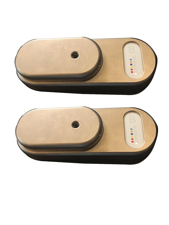 Gatelock Van - GVM - Cód. GTG4MB2 - Cerradura de seguridad para furgonetas y vehículos comerciales con doble cierre y llave única, tamaño mediano: ...