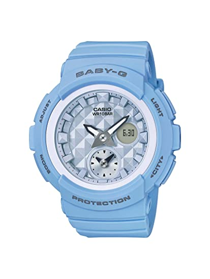 c46d32fc78a Buy Casio Baby-g Analog-Digital Blue Dial Women s Watch - BGA-190BE-2ADR  (BX080) Online at Low Prices in India - Amazon.in