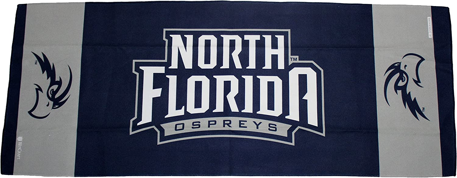 1 Sided 12x30 inches University of North Florida Ospreys Cooling Towel
