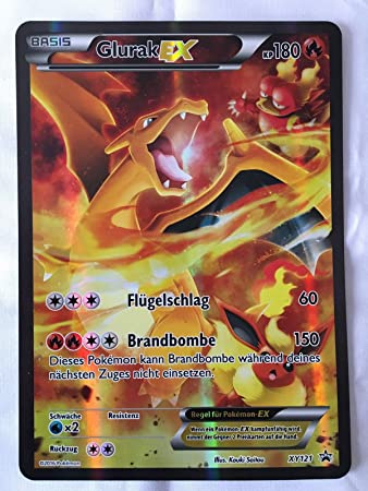 Pokemon Karten Mega Glurak Ex.Pokemon Jumbokarte Glurak Ex Charizard Ex Promo