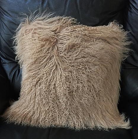 Amazon.com: Tibetano de Mongolia de beautifur lana piel ...