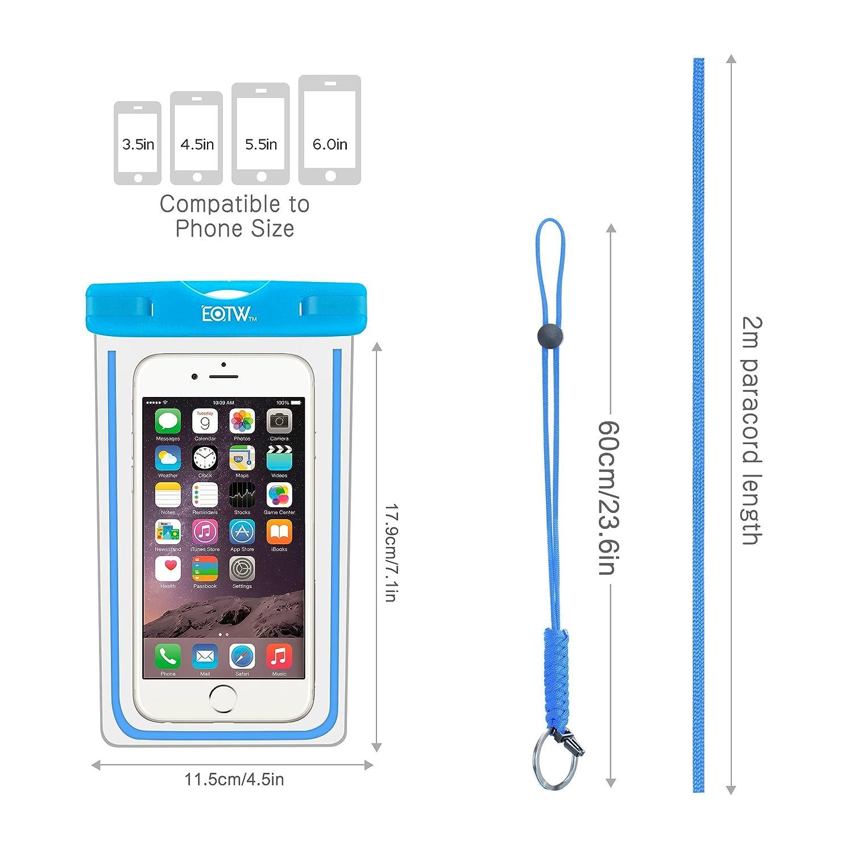Funda Impermeable IPX8 para el móvil por solo 7,59€