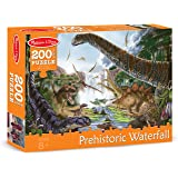 Melissa & Doug Prehistoric Waterfall Dinosaurs Jigsaw Puzzle (200 pcs)