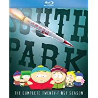 South Park: The Complete Twenty-First Season [Blu-ray]