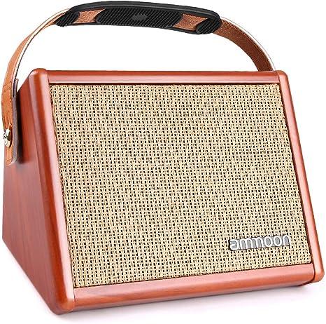 ammoon Amplificador de Guitarra 15W, Mini Amplificador Práctica ...
