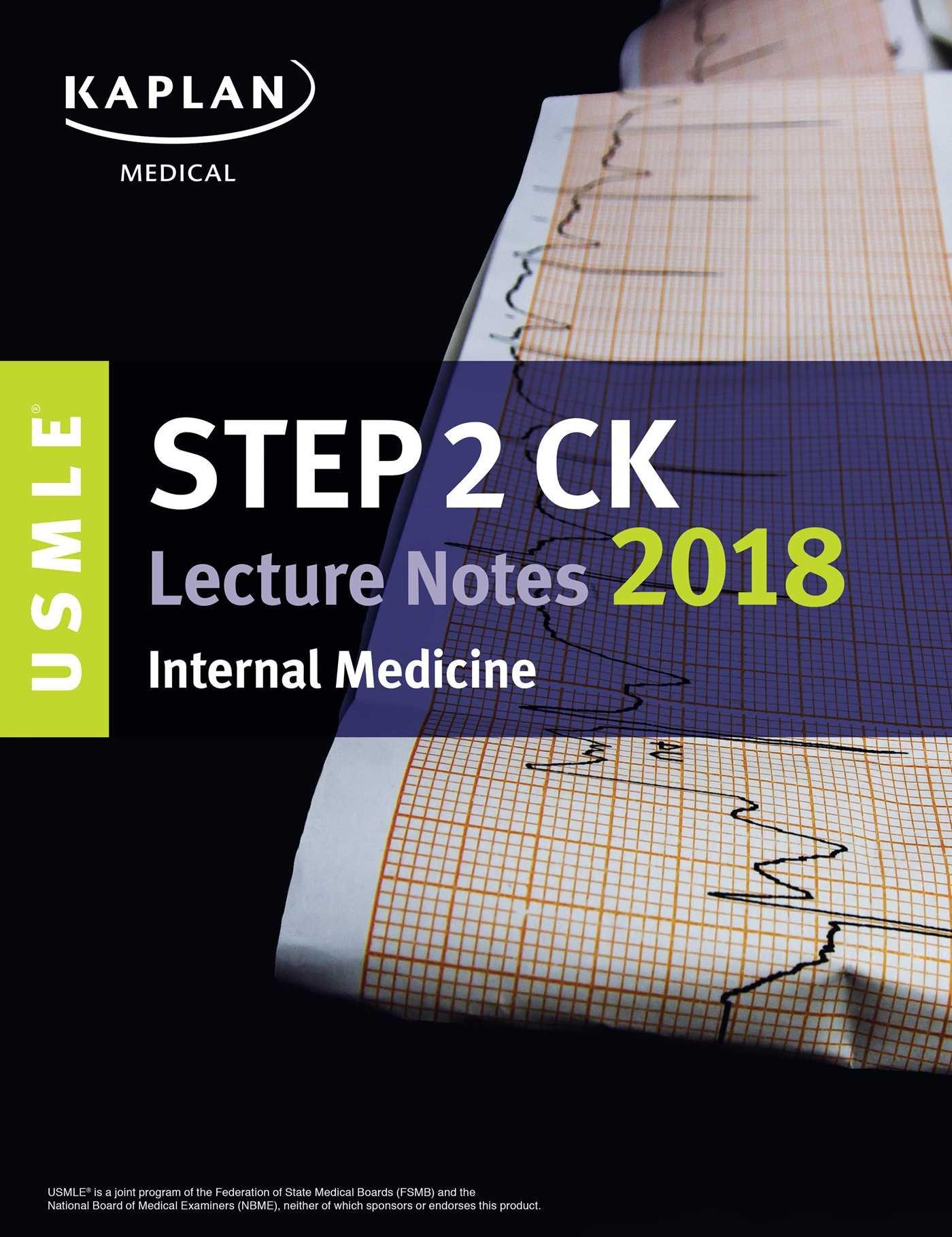Buy USMLE Step 2 CK Lecture Notes 2018: Internal Medicine