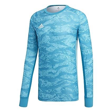 559fa48e adidas Kids ADIPRO 19 Goalkeeper Jersey Junior GK Shirt Aqua Blue for Soccer  Goalkeeping