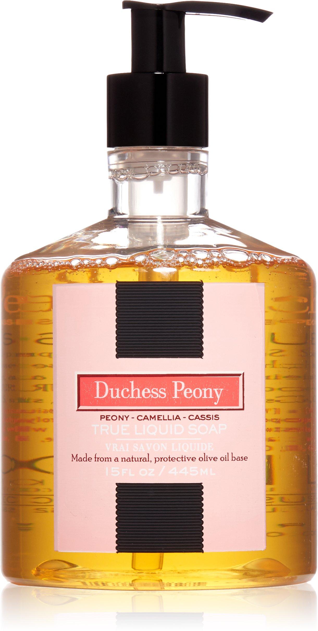 LAFCO House & Home True Liquid Hand Soap, Duchess Peony, 15 Fl Oz
