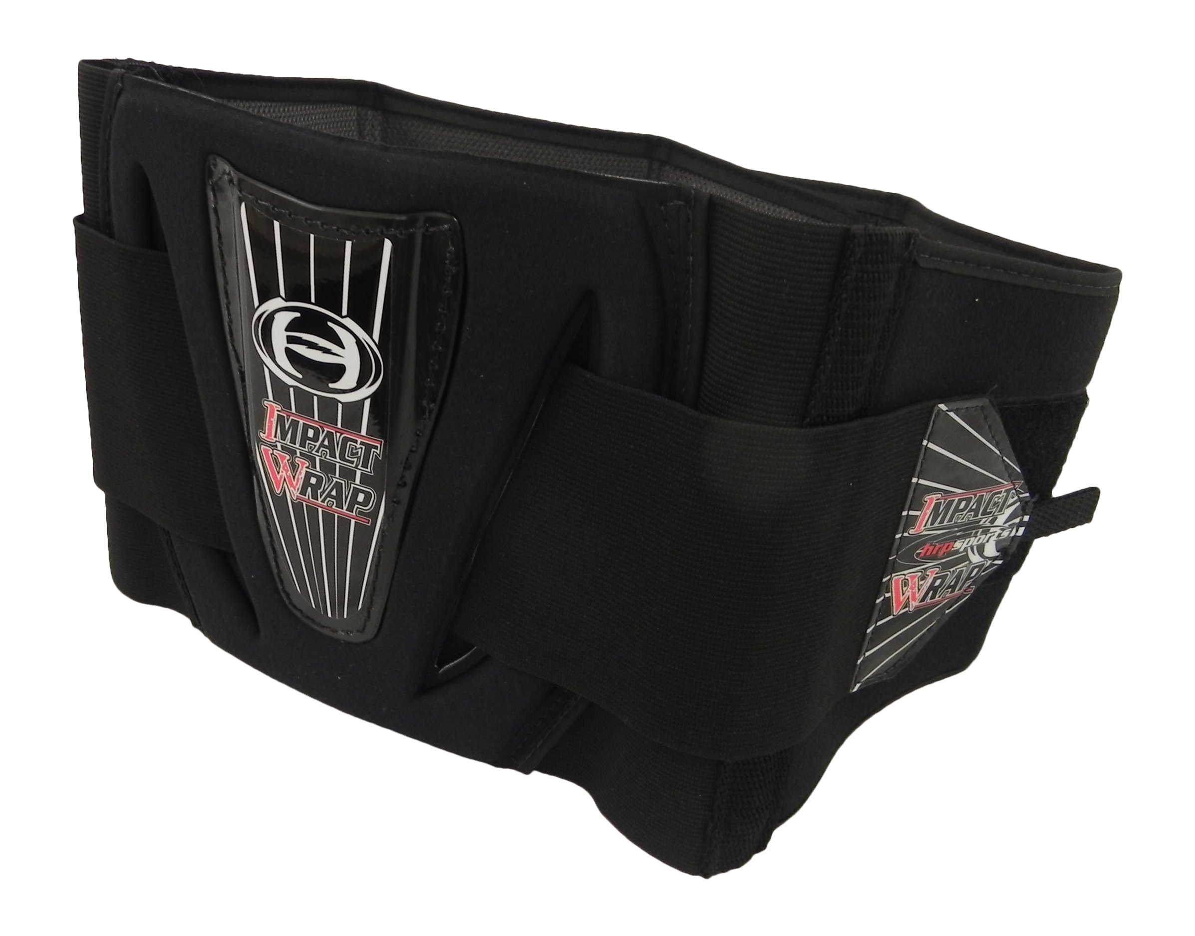 HRP Impact Wrap Adjustable Kidney Belt Back Support (sm (26''-30''), black)