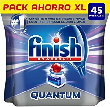 Finish Quantum Regular Pastillas para Lavavajillas - 45 pastillas ...