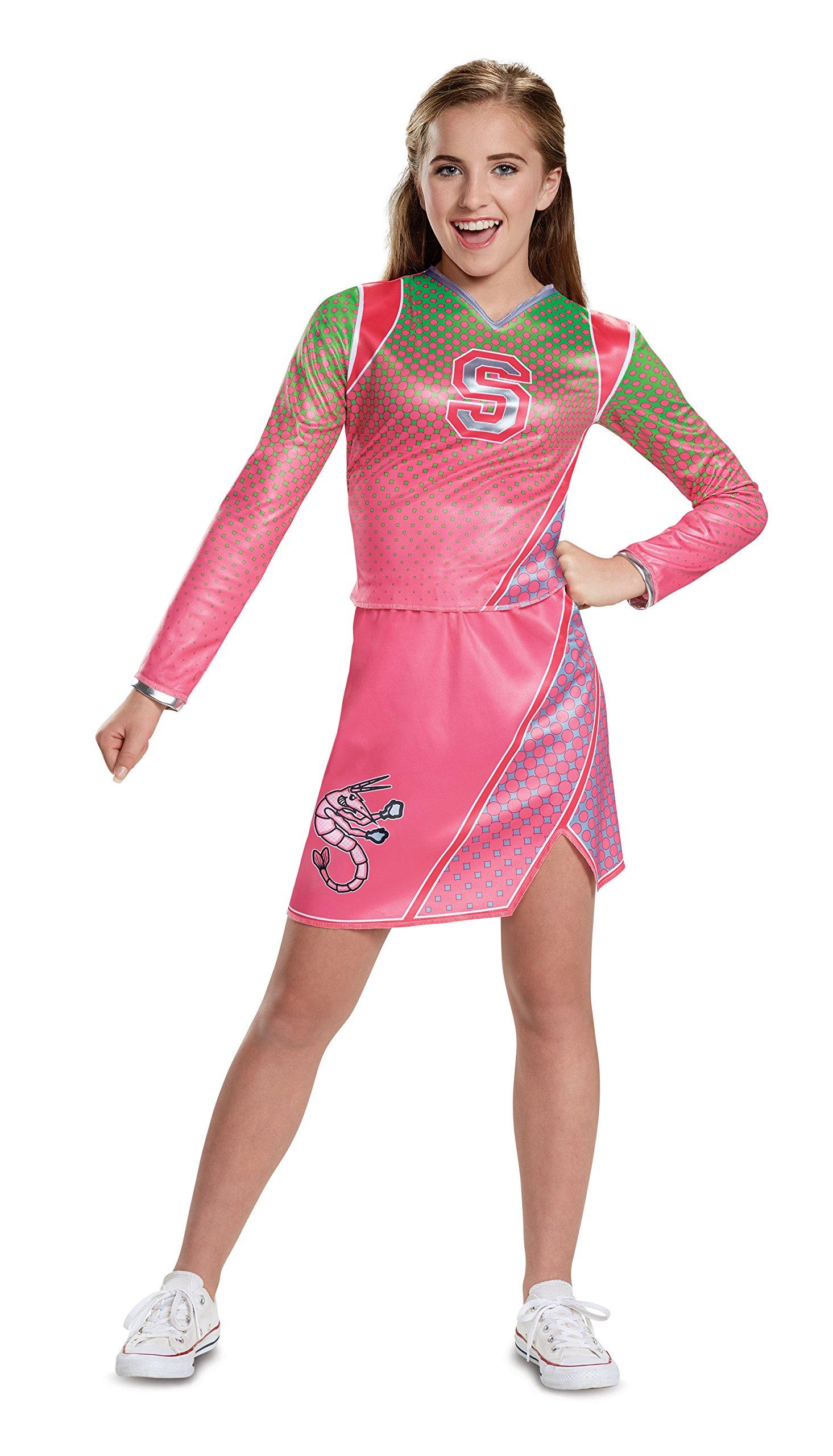 Disguise Addison Classic Cheerleader Child Costume, Pink, Medium/(7-8)