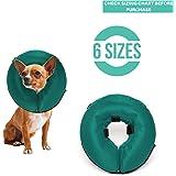 Amazon.com: Collar de cono inflable para perro, collar de ...