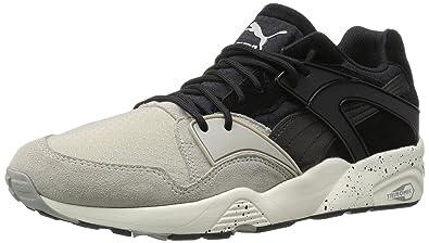 PUMA Men's Blaze Winter Tech Fashion Sneaker, Drizzle Black, ...