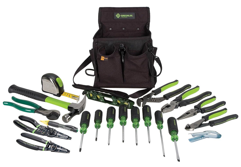 Greenlee 0159-23 Journeyman's Tool Kit, Metric, 21 Piece by Greenlee B002JAOYCY