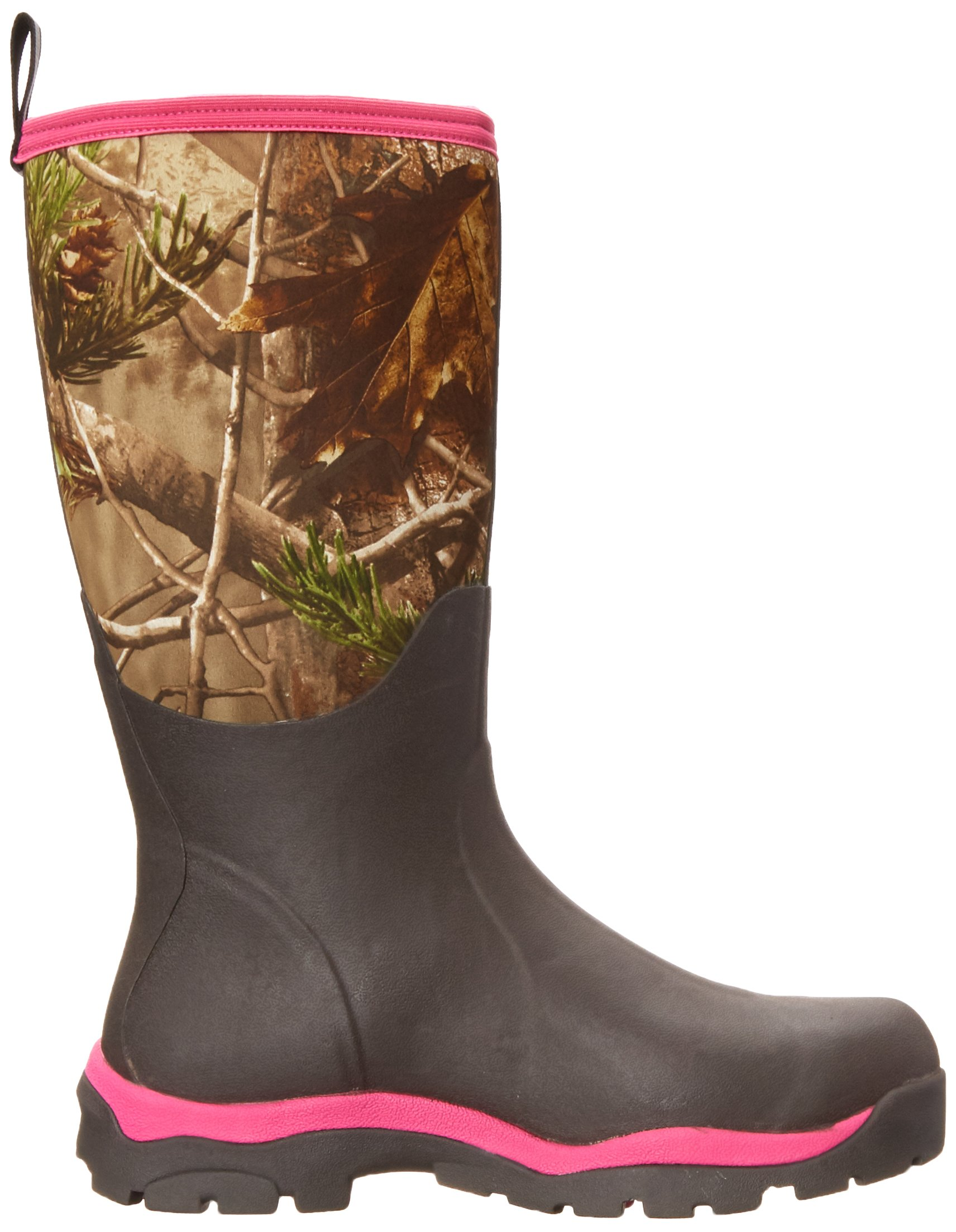 Muck Boot Womens Woody Pk Hunting Shoes, Bark/Realtree/Hot Pink, 8 US/8-8.5 M US by Muck Boot (Image #7)