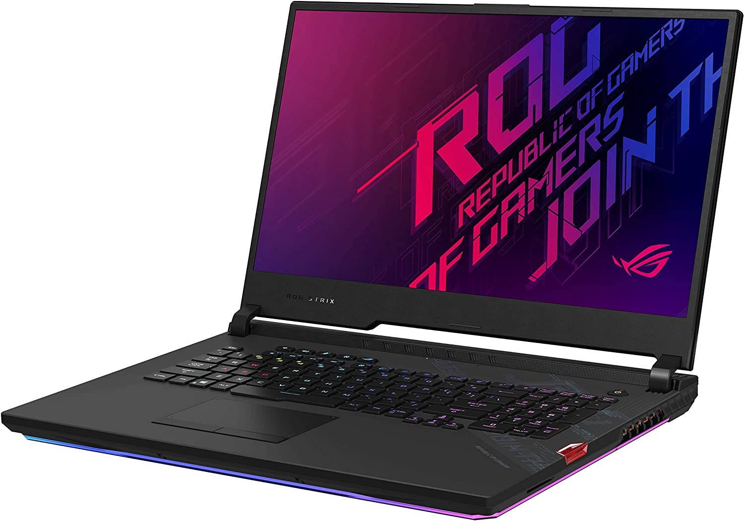 "ASUS ROG Strix Scar 17 Gaming Laptop, 17.3"" 300Hz FHD IPS Type Display, NVIDIA GeForce RTX 2080 Super, Intel Core i9-10980HK, 16GB DDR4, 512GB PCIe SSD, Per-Key RGB Keyboard, Win10 Pro, G732LXS-XS94"