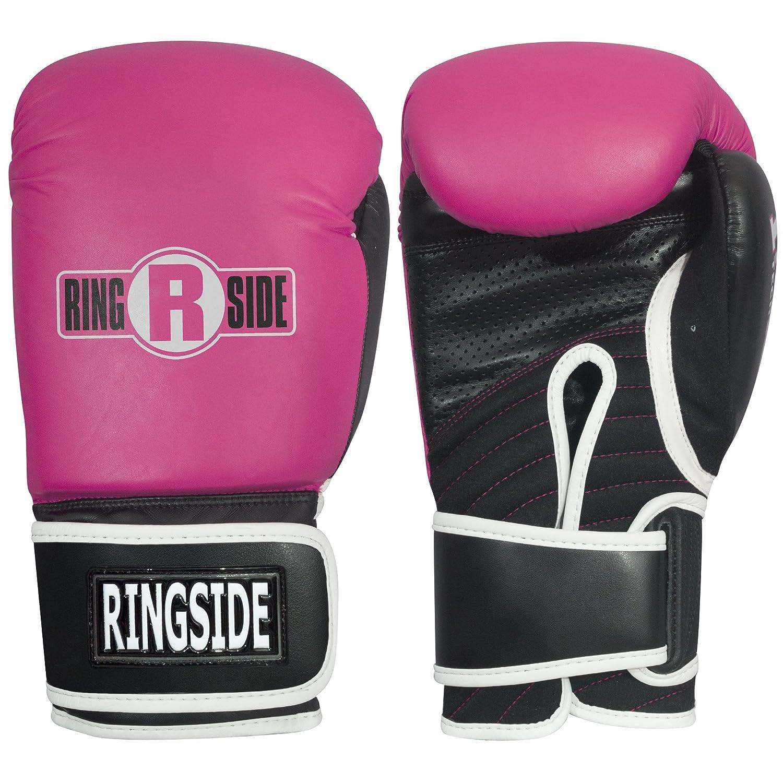 Ringside IMF TechボクシングキックボクシングムエタイトレーニンググローブスパーリングPunching Bag Mitts B00X45YRP2 ピンク Regular