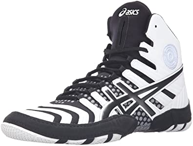 4b0011161bf Image Unavailable. Image not available for. Colour  ASICS Men s Dan Gable  Ultimate 4 Wrestling Shoe ...