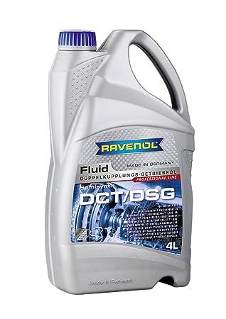 RAVENOL DCT/Directamente Cambios Engranaje Fluid/getriebeöl para Doble kupplungs Engranaje, 4 L: Amazon.es: Coche y moto