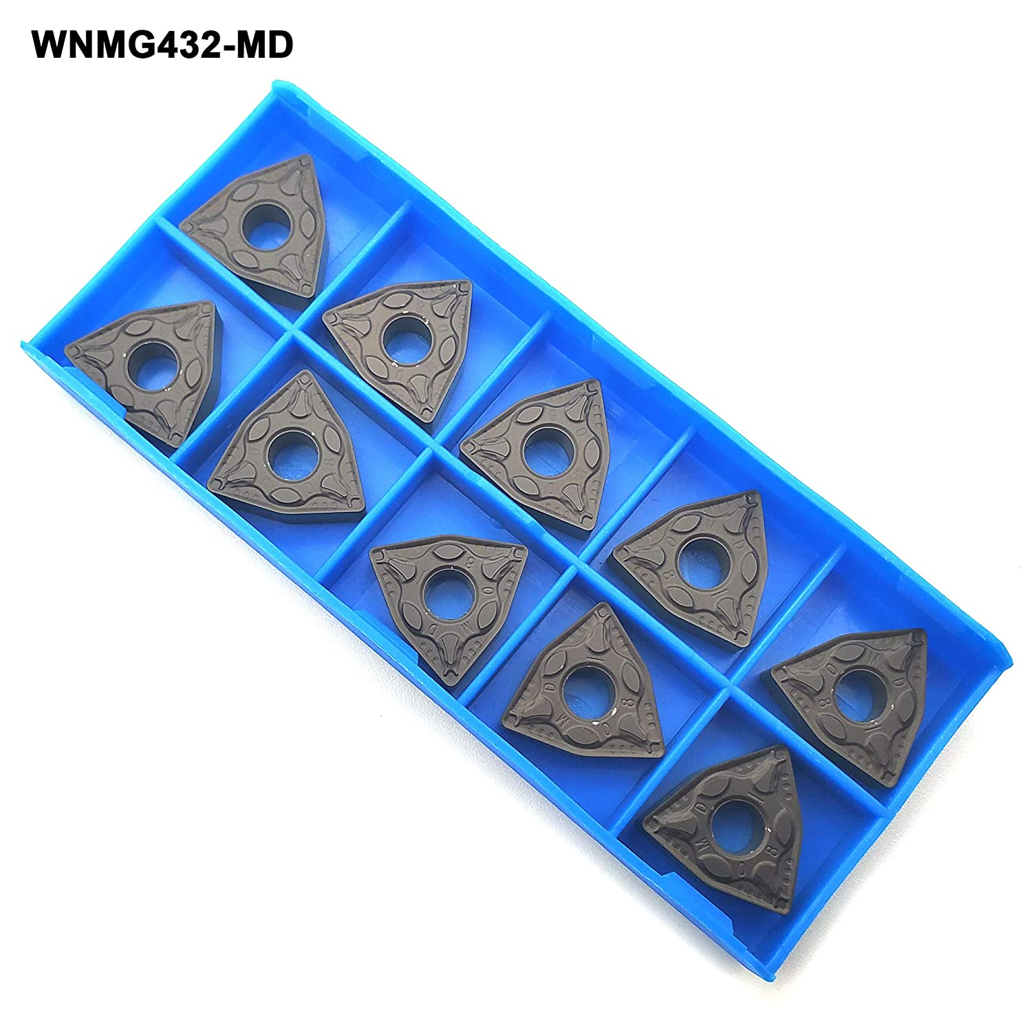 WNMG080408 for Turning Cutting Tools 10 PCS FomaSP Carbide Inserts for Steel WNMG432