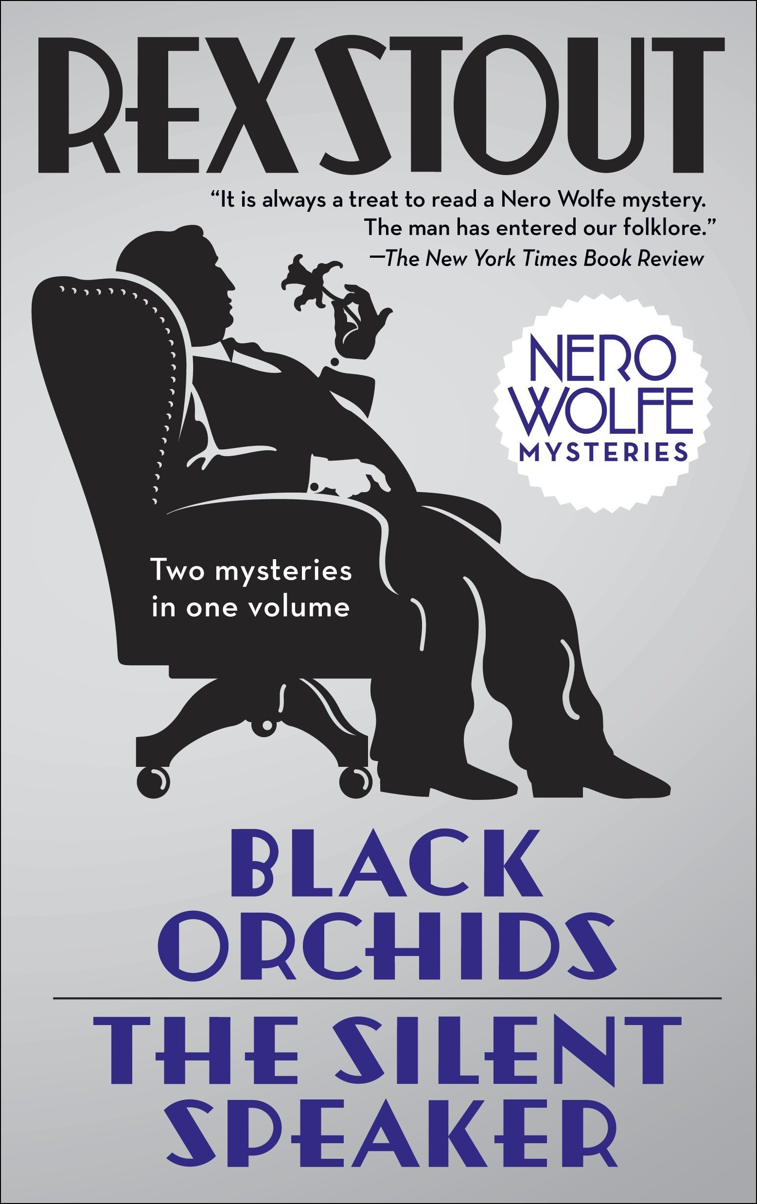 Read Online Black Orchids/The Silent Speaker: Nero Wolfe Mysteries ebook