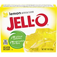 Jell-O Lemon Gelatin Mix (3 oz Box)