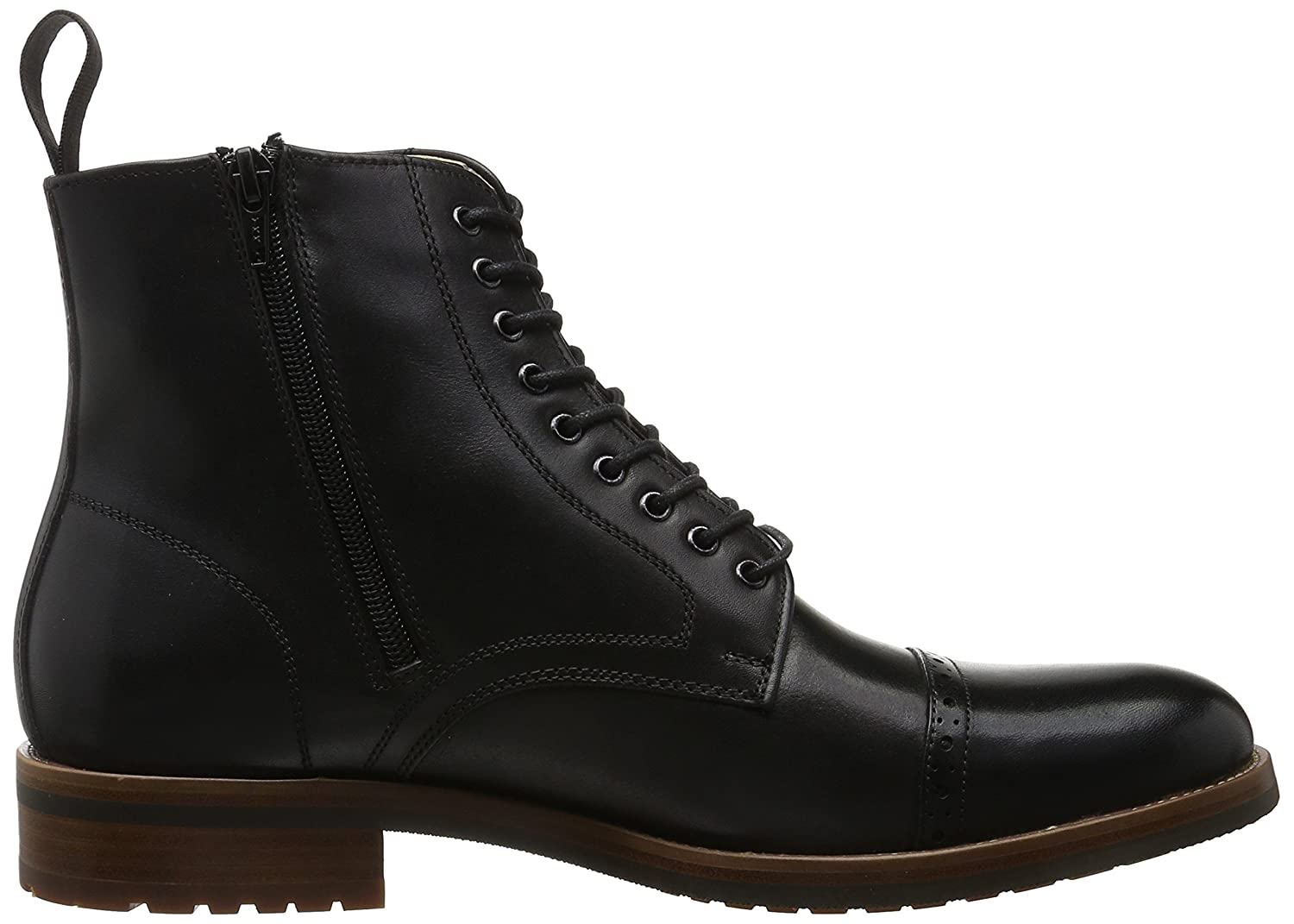 ALDO BEODUCA, Botines para Hombre, Negro (Black Leather / 97), 43 EU: Amazon.es: Zapatos y complementos