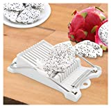 JJMG New Avocado Luncheon Meat Slicer Cheese Slicer Boiled Egg Slicer Fruit Spam Slice with Durable Stainless Steel Cutting Wires Perfect Avocado Toast
