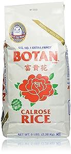 Botan Musenmai Calrose Rice, 5 Pound