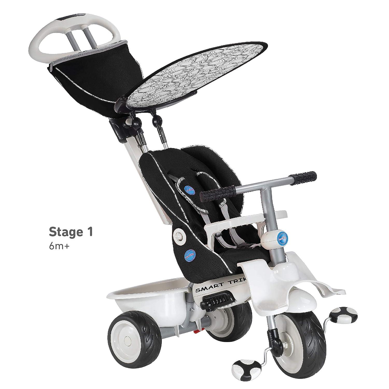 Smart Trike Recliner 4-in-1 Tricycle Black
