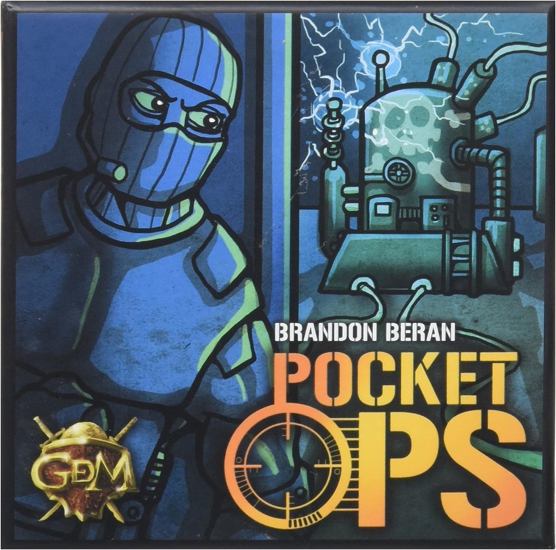 GM Games -Pocket Ops, Juego de tablero (GDM GDM119): Amazon.es: Juguetes y juegos