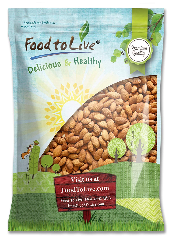 Almonds, 8 Pounds – Kosher, Whole, No Shell, Unsalted, Raw, Bulk