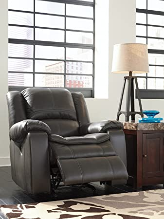 ashley furniture signature design long knight recliner power reclining chair gray - Power Recliner