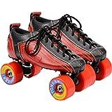 Yonker SHOE SKATE RACER Quad Roller Skates ( FREE SKATES BAG )