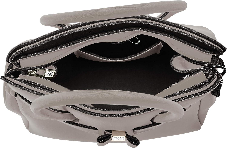 save my bag Women's Miss Plus Shoulder Bag Grigio (Turtle)