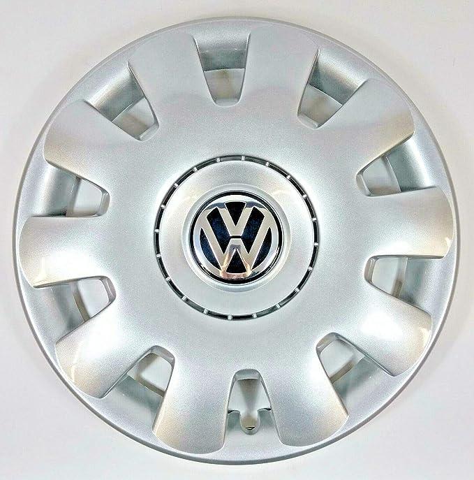 Volkswagen VW Pieza de Repuesto Original Golf 1 Tapacubos de 15 Pulgadas (también Bora y Polo): Amazon.es: Coche y moto
