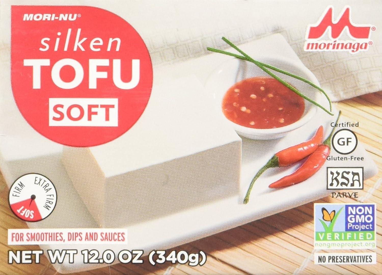 Mori-Nu Silken Tofu, Soft, 12 Ounce (Case of 12) 81ClF1iz07L