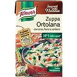 Knorr - Zuppa Ortolana, con Orzo, Farro e Verdure - 6 confezioni da 500 ml [3 l]