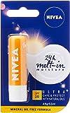 NIVEA Lip Balm Ultra Care & Protect SPF30, 4.8g