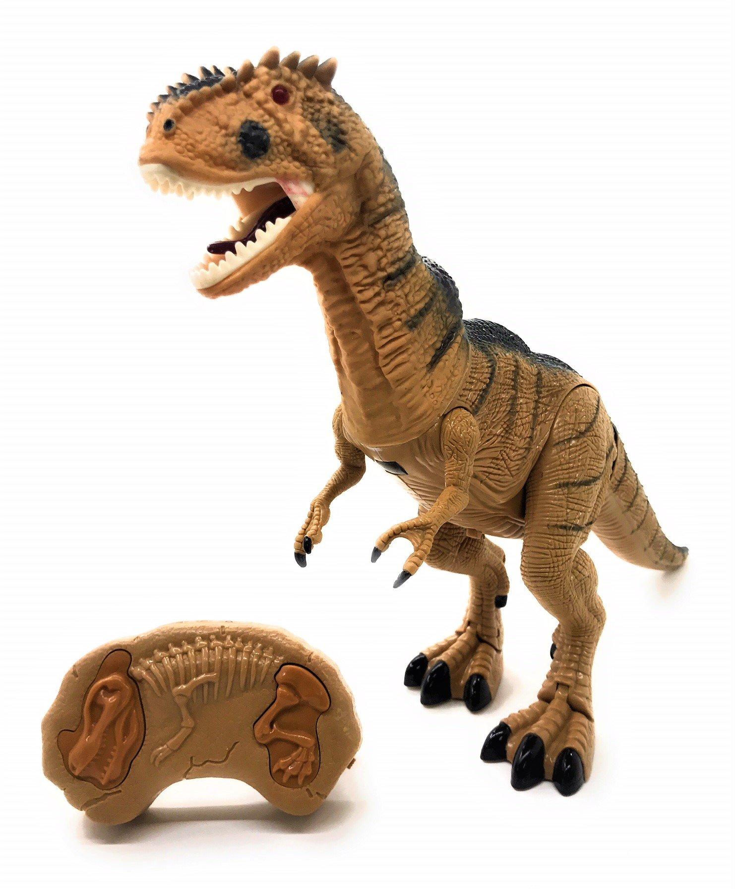 O.B Toys&Gift Dinosaur Walking Toy Remote Control Tyrannosaurus Rex RC T Rex Head Shakes, Lights & Sounds Christmas gift
