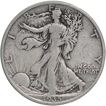 90/% Silver US Coin Fine or Better 1940-S Walking Liberty Half Dollar