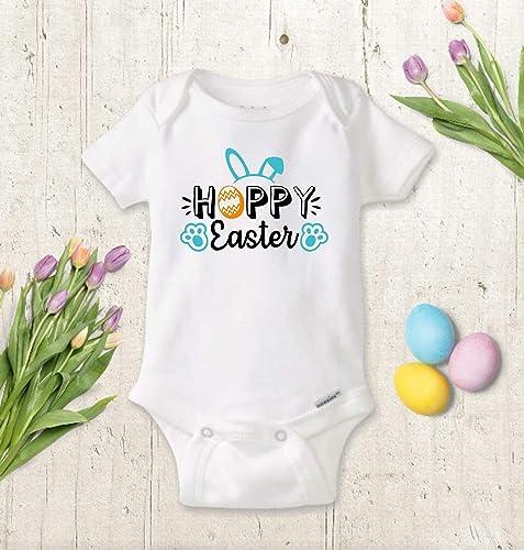 fb4e62e994a59 Amazon.com: Easter Baby Onesie ® or Toddler Shirt, BOY or GIRL, Cute ...