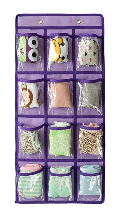 Amazoncom NIMES Hanging Closet Underwear Sock Storage Over The