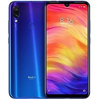 """Xiaomi Redmi Note 7 Smartphone da 6.3"""" FHD+ Dot Drop display, Snapdragon 660, 4 GB RAM, 128 GB, 48 MP+ 5 MP Rear Dual Camera, Neptune Blue [Versione Globale]"""