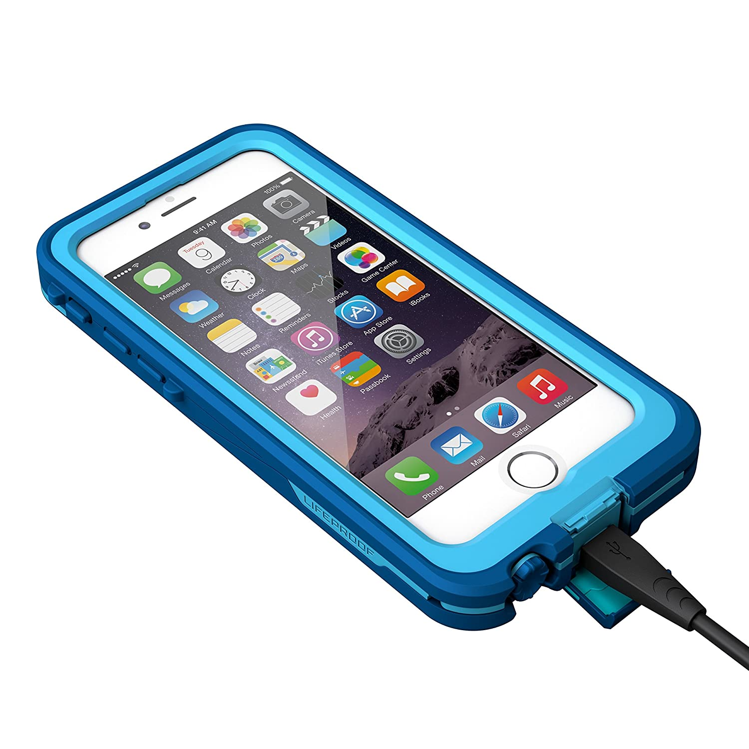 LifeProof Fre - Carcasa con cargador para Apple Iphone 6, 6S ...